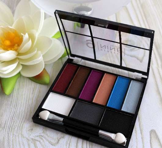 NICKA K NEW YORK Perfect 9 Colors Eye Shadow Palette, Farbe: AP017