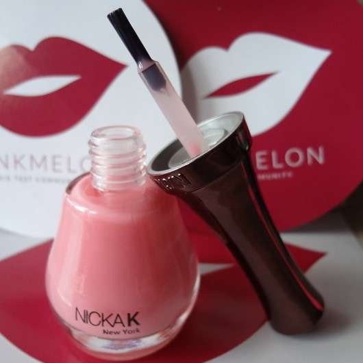 NICKA K NEW YORK Nail Colour, Farbe: NY107 Rosy Pink