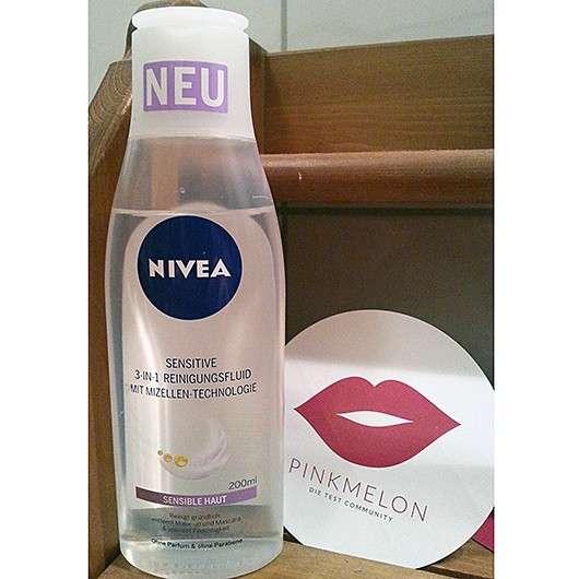 <strong>NIVEA SENSITIVE</strong> 3-In-1 Reinigungsfluid mit Mizellen-Technologie
