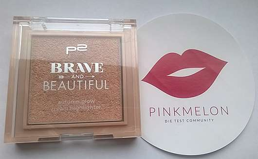 p2 Brave and Beautiful autumn glow cream highlighter, Farbe: 010 brilliant (LE)
