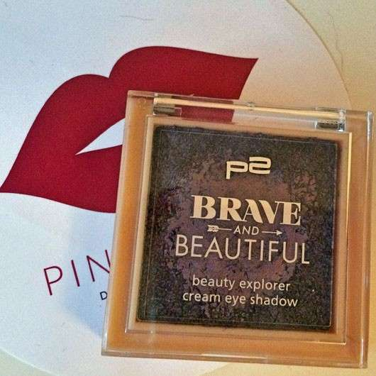 p2 Brave and Beautiful beauty explorer cream eye shadow, Farbe: 030 purple grape (LE)