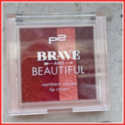Produktbild zu p2 cosmetics Brave and Beautiful northern senses lip cream – Farbe: 02 cold storm (LE)