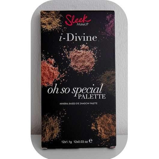 Sleek MakeUP Oh So Special I Divine Lidschatten Palette