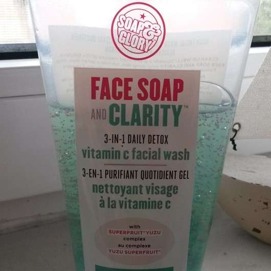 Test Reinigung Soap Amp Glory Face Soap And Clarity