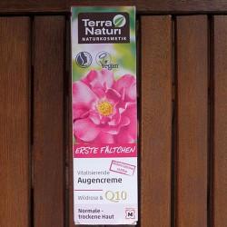 Produktbild zu Terra Naturi Naturkosmetik Erste Fältchen vitalisierende Augencreme Wildrose & Q10
