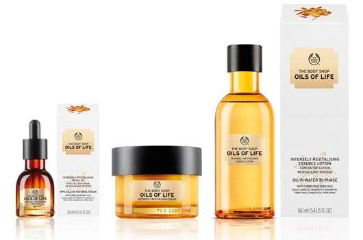 THE BODY SHOP OILS OF LIFE™