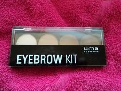 "Produktbild zu uma cosmetics ""Why not, wild hot!"" Eyebrow Kit (LE)"