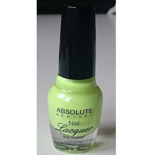 ABSOLUTE NEW YORK Nail Lacquer, Farbe: NFB18 Spring