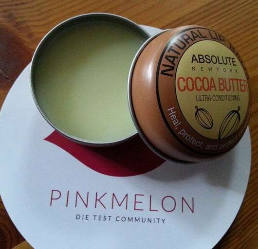 "ABSOLUTE NEW YORK Natural Lip Balm ""Cocoa Butter"""