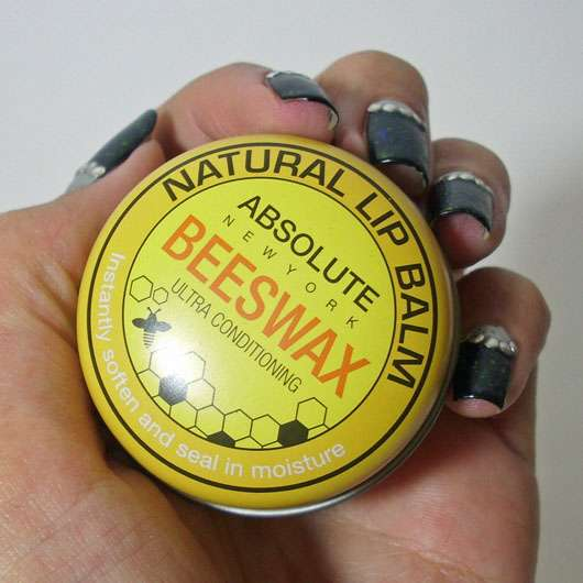 "ABSOLUTE NEW YORK Natural Lip Balm ""Beeswax"""