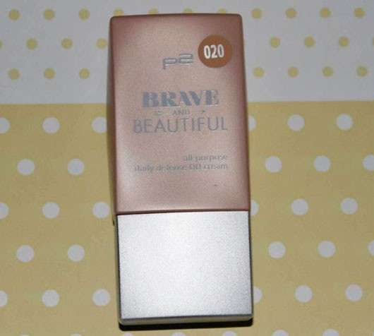 p2 Brave and Beautiful All-Purpose Daily Defense DD Cream, Farbe: 020 amber (LE)