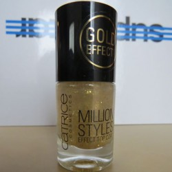 Produktbild zu Catrice Million Styles Effect Top Coat – Farbe: 07 Unfold The Unlimited Gold