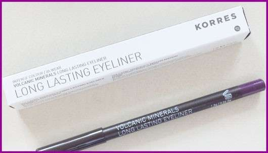 KORRES Volcanic Minerals Long Lasting Eyeliner, Farbe: 04 purple