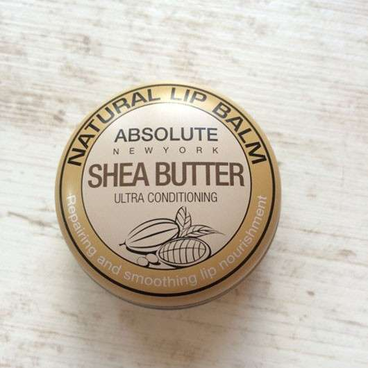 """ABSOLUTE NEW YORK Natural Lip Balm """"Shea Butter"""""""