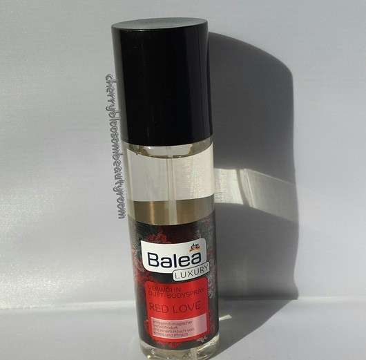 Balea Luxury Verwöhn Duft-Bodyspray Red Love