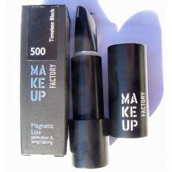 Produktbild zu Make up Factory Magnetic Lips – Farbe: 500 Timeless Black