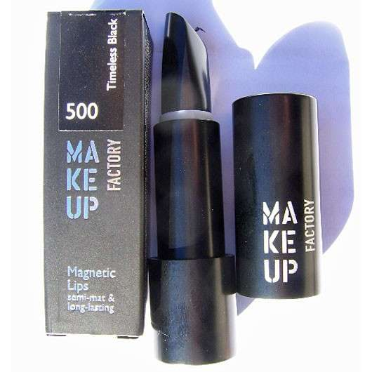 Make Up Factory Magnetic Lips, Farbe: 500 Timeless Black