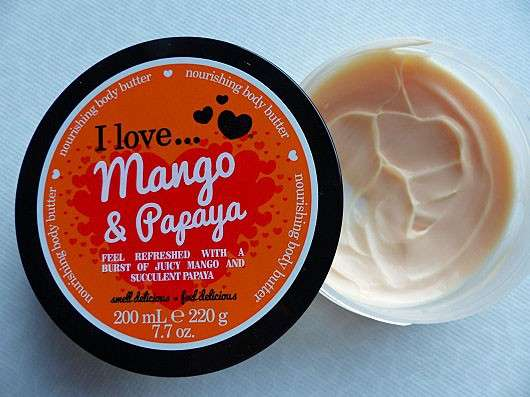 I love… Mango Papaya Nourishing Body Butter