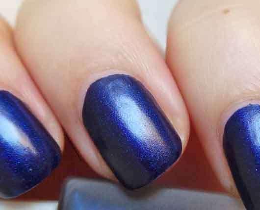 IsaDora Velvet Matt Nails Nagellack, Farbe: 822 Moody Blues