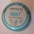 "ABSOLUTE NEW YORK Natural Lip Balm ""Mint"""