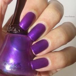 Produktbild zu NICKA K NEW YORK Nail Color – Farbe: NY111 Violet