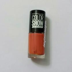 Produktbild zu Maybelline New York Colorshow Nagellack – Farbe: 341 Orange Attack