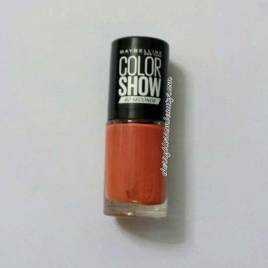 Maybelline Colorshow Nagellack, Farbe: 341 Orange Attack