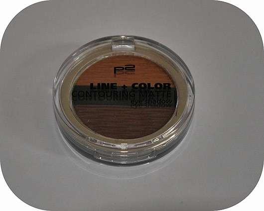 p2 line + color contouring matte eye shadow, Farbe: 020 peanut butter biscuit