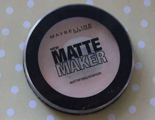 Maybelline Matte Maker Mattifying Powder, Farbe: 20 Nude Beige