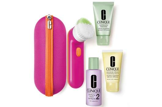 6 Clinique Sonic Sets in Pink zu gewinnen