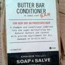 Chagrin Valley Soap & Salve Butter Bar Conditioner Shampoo
