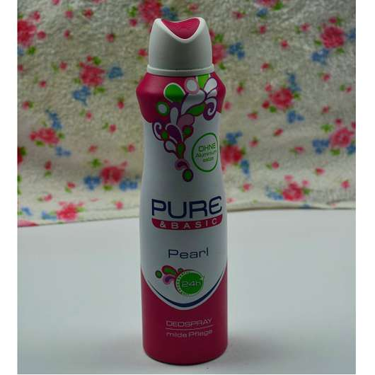 test deodorant pure basic pearl deospray. Black Bedroom Furniture Sets. Home Design Ideas