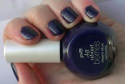 Produktbild zu p2 cosmetics all about berries elegant allure nail polish – Farbe: 070 blackberry passion (LE)