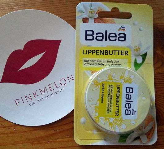 Balea Lippenbutter Zitronenblüte + Mandel