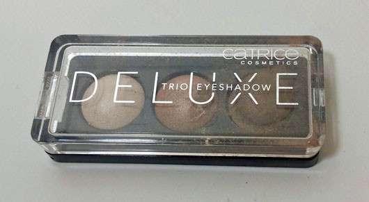 Catrice Deluxe Trio Eyeshadow, Farbe: 010 Antique C'est Très Chic