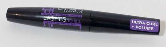 Catrice Lashes To Kill Ultra Curl & Volume Mascara, Farbe: 010 Black