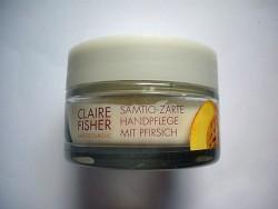 Produktbild zu Claire Fisher Natur Classic Samtig-Zarte Handpflege mit Pfirsich