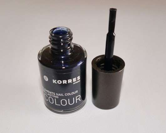 Korres Myrrh & Oligoelements Nail Colour, Farbe: 88 Midnight Blue