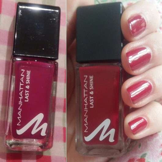 Manhattan Last & Shine Nail Polish, Farbe: 380 Candlelight Dinner