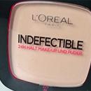 L'OREAL Indefectible 24H Halt Make-Up und Puder – Farbe: 225 Beige