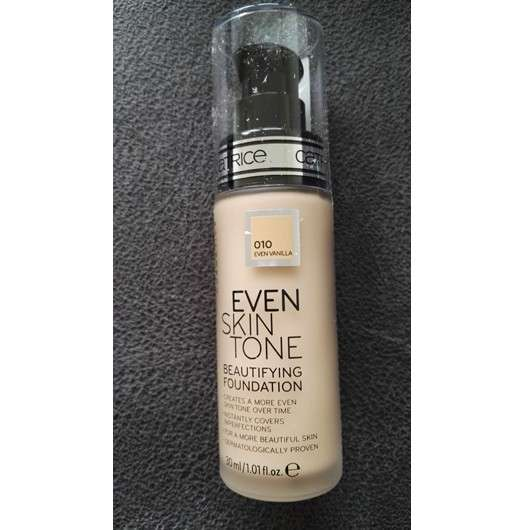 Catrice Even Skin Tone Beautifying Foundation, Farbe: 010 Even Vanilla