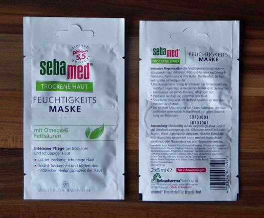 test maske sebamed trockene haut feuchtigkeits maske testbericht von lexiana. Black Bedroom Furniture Sets. Home Design Ideas