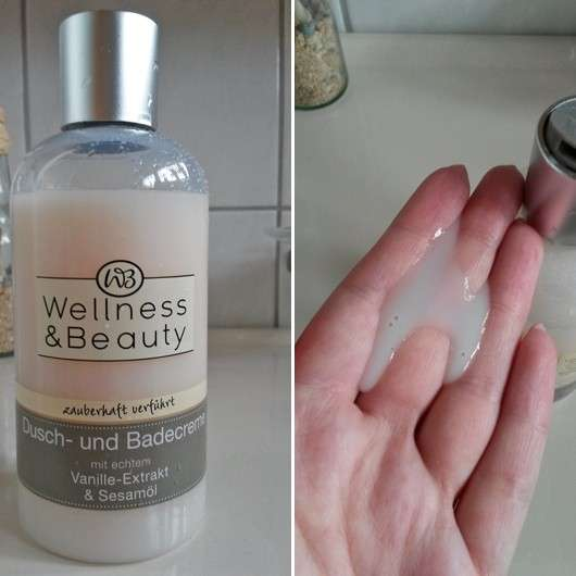 """Wellness & Beauty Dusch- & Badecreme """"zauberhaft verführt"""""""