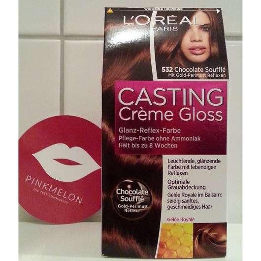 <strong>L'ORÉAL PARiS Casting Crème Gloss</strong> Glanz-Reflex-Farbe - Farbe: 532 Chocolate Soufflé