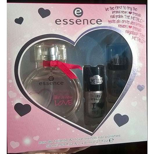 essence fragrance set like a new love (LE)