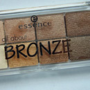 essence all about … eyeshadow, Farbe: 01 bronze