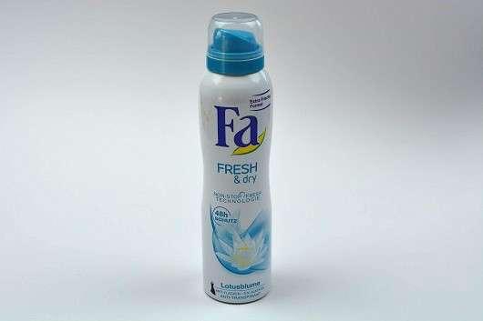 Fa Fresh & Dry Lotusblume Anti-Transpirant Spray