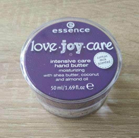essence love.joy.care intensive care hand butter (LE)