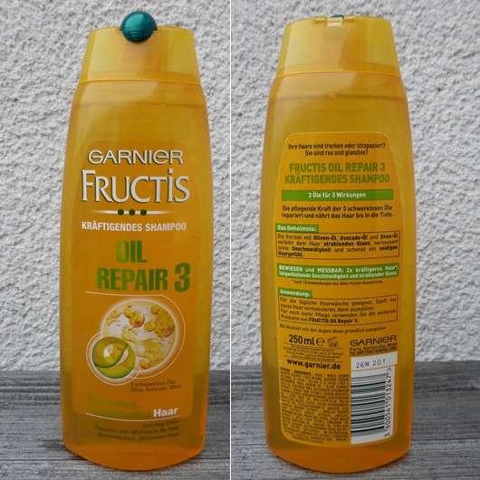 Repair Shampoo Test