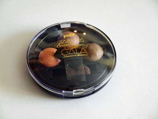 p2 fabulous beauty gala perfect night trio eye shadow, Farbe: 010 dressed up (LE)